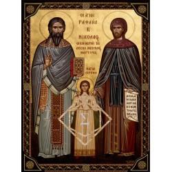 Άγιοι Ραφαήλ, Νικόλαος, Ειρήνη [ΘΕΜΑ 2]