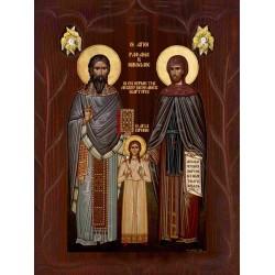 Άγιοι  Ραφαήλ, Νικόλαος, Ειρήνη [ ΘΕΜΑ 1]
